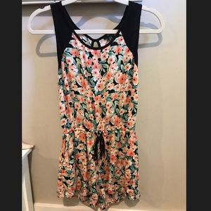 Forever 21 Floral Romper-Accepting offers